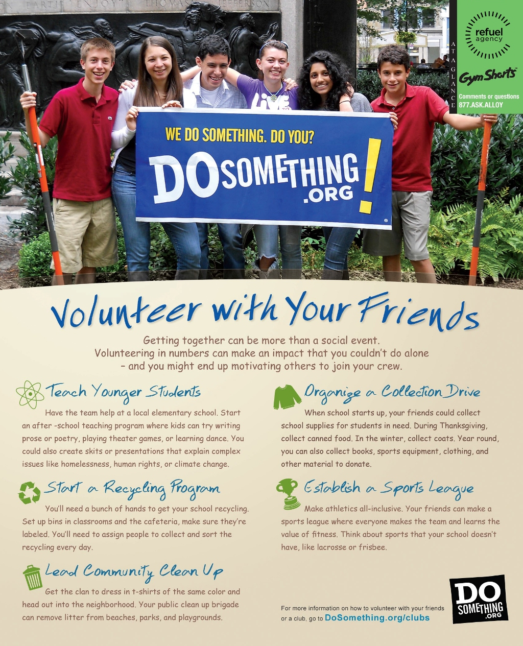 DoSomething.Org -Volunteer With Friends