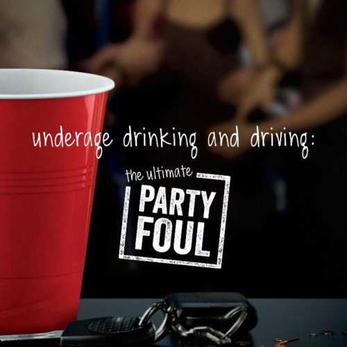 Ad Council – Underage Drinking & Driving
